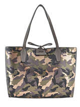 Sac Cabas Reversible Bobbi Guess Vert bobbi MC642215