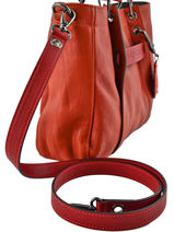 Longchamp Divers Rouge-vue-porte