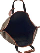 Longchamp Boxford Sac de voyage Vert-vue-porte