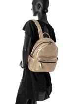 Sac à Dos Miniprix Or backpack MML9516-vue-porte