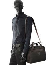 Longchamp Boxford Reistassen Zwart-vue-porte