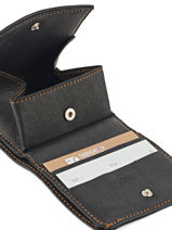 Porte-monnaie Cuir Foures Noir baroudeur 9147-vue-porte