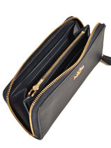 Portefeuille Leder Coach Blauw wallet 58059-vue-porte