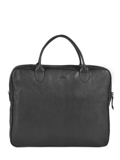 Longchamp Parisis Serviette Noir