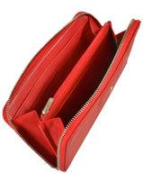 Longchamp Portefeuille Rouge-vue-porte