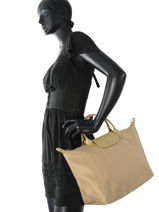 Longchamp Sac porté main Or-vue-porte