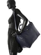 Longchamp Sac de voyage Bleu-vue-porte