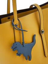 Bijoux De Sac Rexy Coach Bleu bag charms 21528-vue-porte