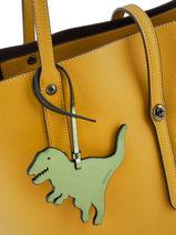 Bijoux De Sac Rexy Coach Gris bag charms 21528-vue-porte