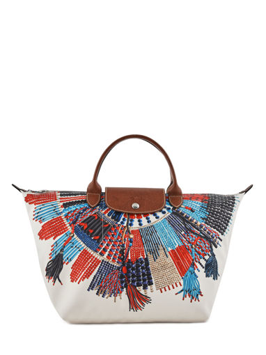 Longchamp Sac porté main Multicolore