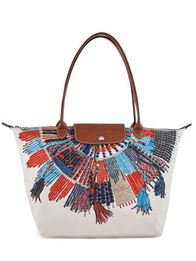 Longchamp Besace Multicolore