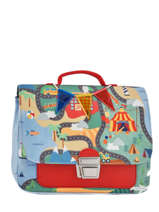 Cartable Jeune premier Rouge canvas ITN18