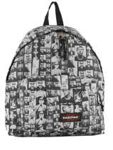 Sac à Dos 1 Compartiment Eastpak Noir andy warhol K620AND