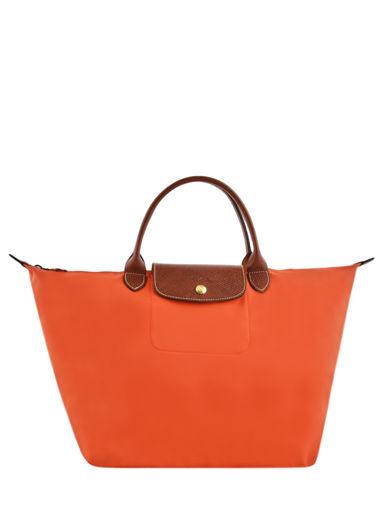 Longchamp Sac porté main Orange