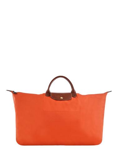 Longchamp Sac de voyage Orange