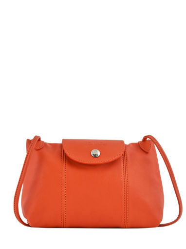 Longchamp Sac porté travers Orange