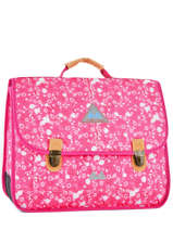 Cartable 2 Compartiments Poids plume Rose be all over color PCO15417