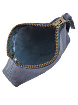 Porte-monnaie Cuir Basilic pepper Bleu cow BCOW93-vue-porte