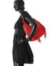 Besace Cheyenne Cuir Etrier Rouge cheyenne ECHE03-vue-porte