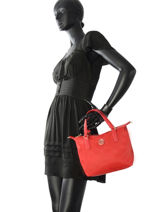Sac Cabas Poppy Tommy hilfiger Rouge poppy AW04361-vue-porte