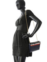 Sac Bandoulière Cool Hardware Tommy hilfiger Multicolore cool hardware AW04987-vue-porte