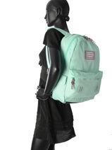 Sac à Dos 1 Compartiment Superdry Bleu backpack woomen G91002DQ-vue-porte