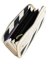 Portefeuille Tommy hilfiger Multicolore cool hardware AW05301-vue-porte