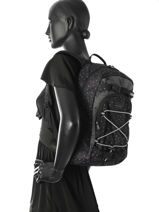 Sac à Dos 1 Compartiment Dakine Noir girl packs 8210-105-vue-porte