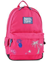 Sac à Dos 1 Compartiment Superdry Rose backpack woomen G91001DQ