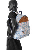 Sac à Dos 1 Compartiment Roxy Multicolore backpack RJBP3638-vue-porte