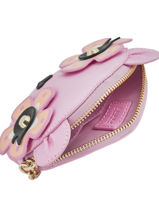 Portemonnee Leder Furla Roze charme CRM-PU15-vue-porte
