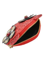 Porte-monnaie Charme Cuir Furla Rouge charme CRM-PU52-vue-porte