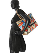 Longchamp Besace Multicolore-vue-porte
