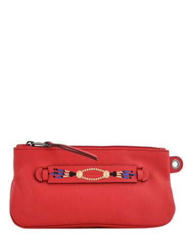 Longchamp Pochette Rouge