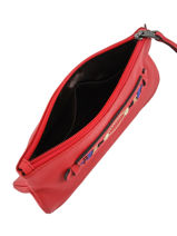 Longchamp Pochette Rouge-vue-porte