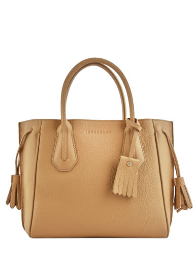 Longchamp Sac porté main Marron