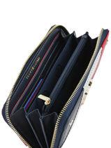 Portefeuille Cuir Tommy hilfiger Multicolore accessoires AW05132-vue-porte