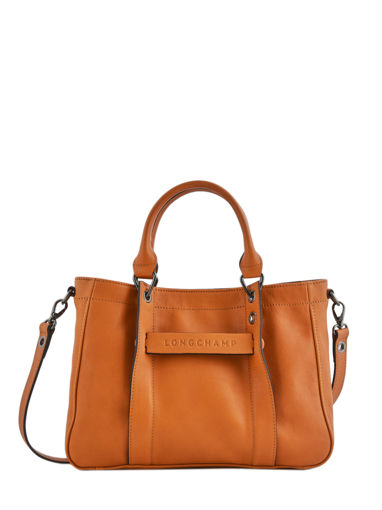 Longchamp Sac porté main Orange