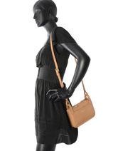 Longchamp Sac porté travers Beige-vue-porte