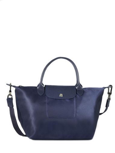 Longchamp Le pliage neo Handtas Blauw