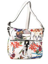 Sac Bandoulière Tropic Hexagona Blanc tropic 615322