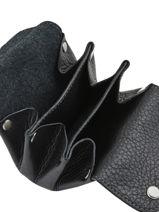 Porte-monnaie Cuir Hexagona Noir toucher 628016-vue-porte