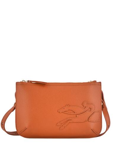 Longchamp Sac porté travers Orange