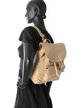 Sac à Dos Cowboysbag Beige ladylike 1995-vue-porte