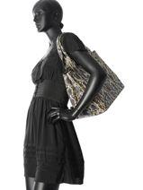 Sac Shopping Ozark Fashion La pomme de loveley Multicolore fashion LPF18-42-vue-porte