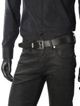 Ceinture Tommy hilfiger Noir belt AM03320-vue-porte