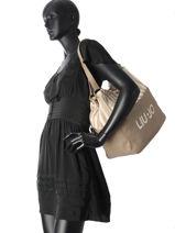 Sac Shopping A4 Indiana Liu jo Beige indiana N18220-vue-porte