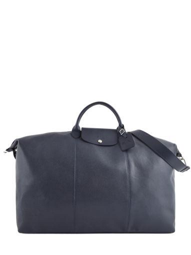 Longchamp Le foulonné Sac de voyage Bleu