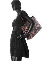 Sac Porté épaule A4 Frida Print Emporio armani Noir frida print 17Y3D081-vue-porte