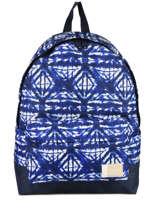 Sac à Dos 1 Compartiment Roxy Bleu backpack RJBP3637